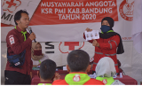 Musyawarah Anggota, Azyzyams Noer Hakim  Terpilih Komandan KSR PMI Kab. Bandung 2020